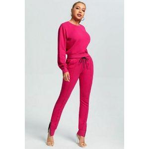 Pink Jogger Sweatsuit Set